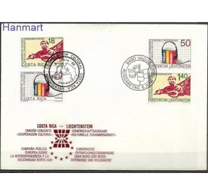 Znaczek Liechtenstein 1988 Mi 945-946 FDC