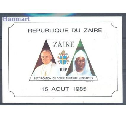 Znaczek Kongo Kinszasa / Zair 1986 Mi bl 56 Czyste **