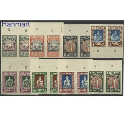 Znaczek Litwa 1933 Mi 364-371B Czyste **