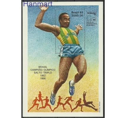 Znaczek Brazylia 1983 Mi bl 57 Czyste **