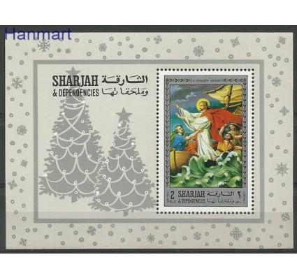 Znaczek Sharjah 1970 Mi bl 79 Czyste **