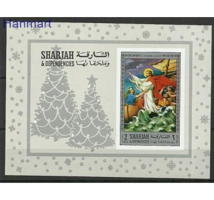 Znaczek Sharjah 1970 Mi bl 79B Czyste **