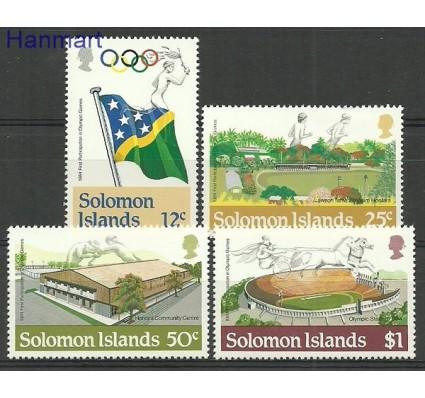 Znaczek Wyspy Salomona 1984 Mi 536-539 Czyste **
