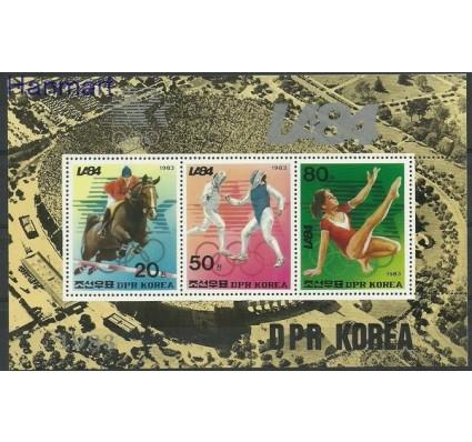 Znaczek Korea Północna 1983 Mi bl 163 Czyste **