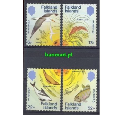Znaczek Falklandy 1984 Mi 415-418 Czyste **