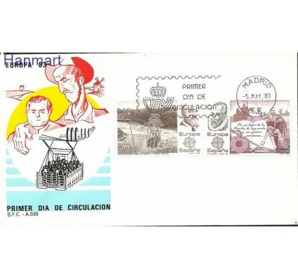 Znaczek Hiszpania 1983 Mi 2585- FDC