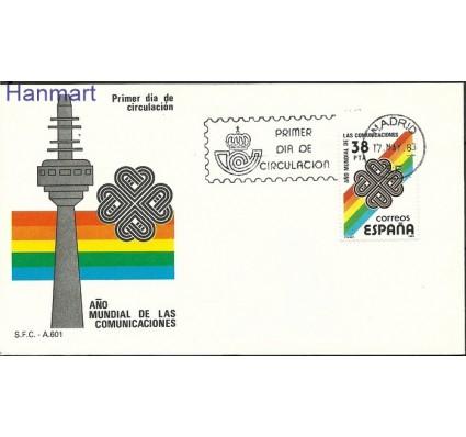 Znaczek Hiszpania 1983 Mi 2591 FDC