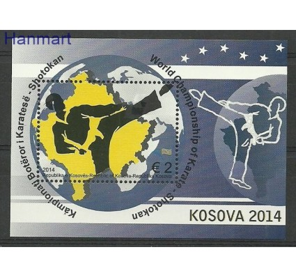Znaczek Kosowo 2014 Mi bl 27 Czyste **