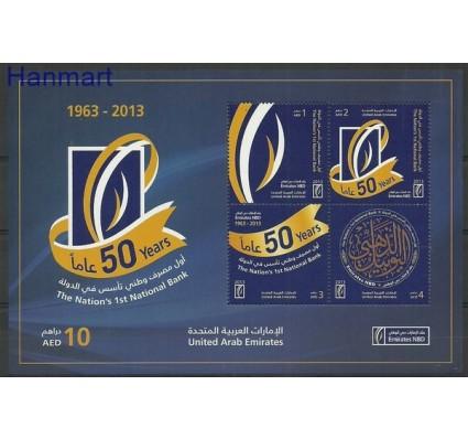 Znaczek Zjednoczone Emiraty Arabskie 2013 Mi bl 84 Czyste **