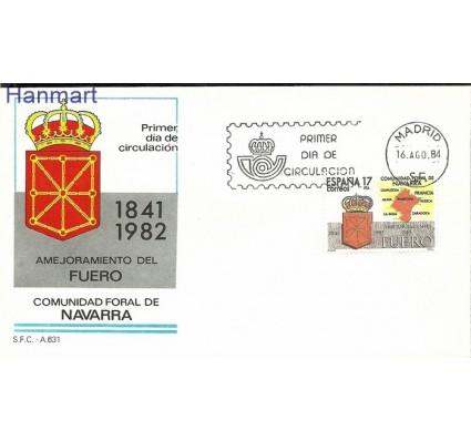 Znaczek Hiszpania 1984 Mi 2652 FDC