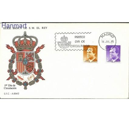 Znaczek Hiszpania 1985 Mi 2688-2689 FDC
