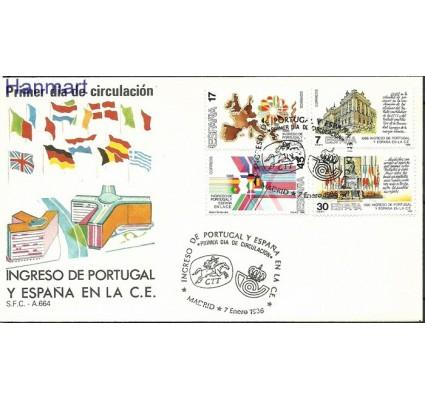 Znaczek Hiszpania 1986 Mi 2709-2712 FDC