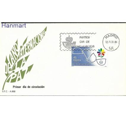 Znaczek Hiszpania 1986 Mi 2718 FDC