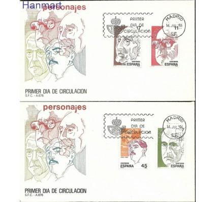Znaczek Hiszpania 1986 Mi 2733-2736 FDC