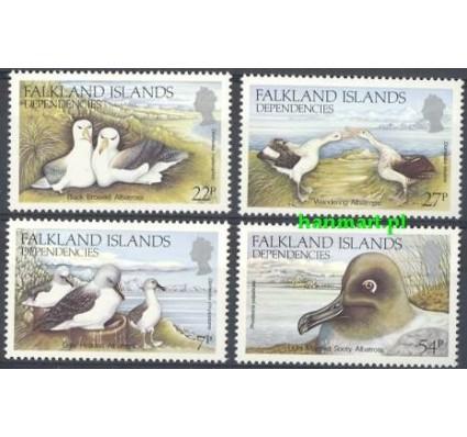 Znaczek Dependencja Falklandów 1985 Mi 129-132 Czyste **