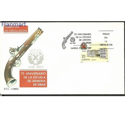 Znaczek Hiszpania 1987 Mi 2788 FDC