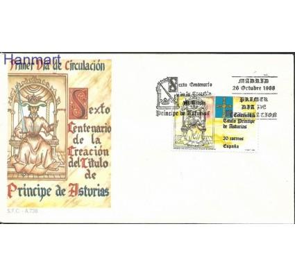 Znaczek Hiszpania 1988 Mi 2856 FDC