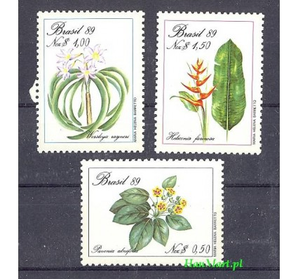 Znaczek Brazylia 1989 Mi 2299-2301 Czyste **
