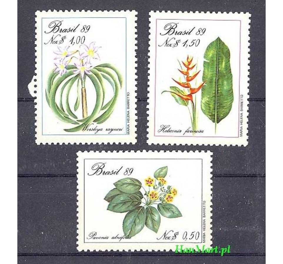 Brazylia 1989 Mi 2299-2301 Czyste **