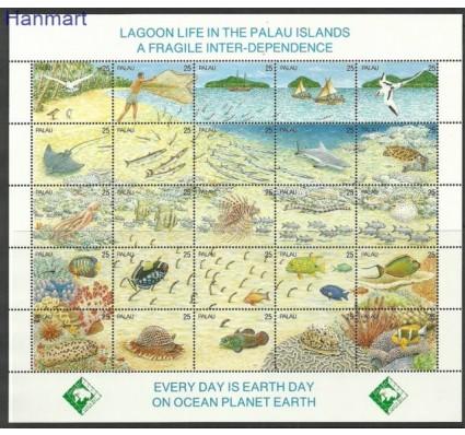 Znaczek Palau 1990 Mi 370-394 Czyste **