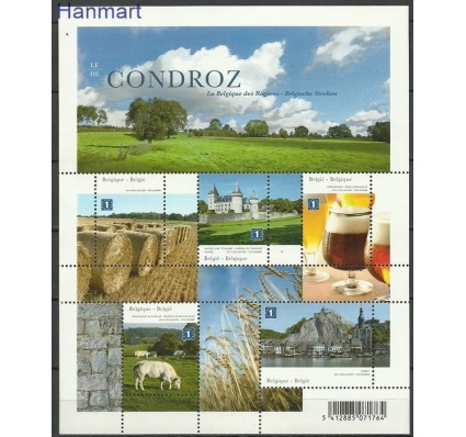 Znaczek Belgia 2012 Mi bl 169 Czyste **