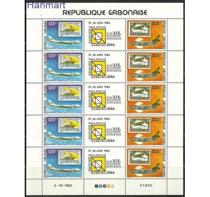 Znaczek Gabon 1984 Mi 888-889 Czyste **