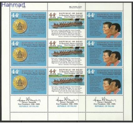 Znaczek Palau 1986 Mi 146-148 Czyste **