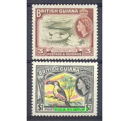 Znaczek Gujana 1954 Mi 211 Z podlepką *