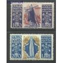 Włochy 1948 Mi 744-745 Czyste **