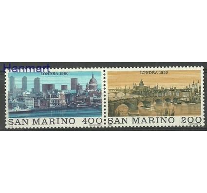 Znaczek San Marino 1980 Mi 1210-1211 Czyste **