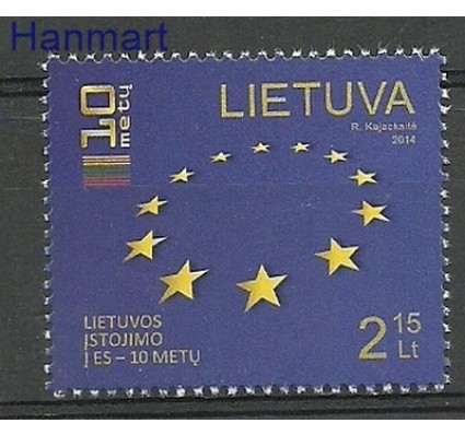 Znaczek Litwa 2014 Mi 1158 Czyste **