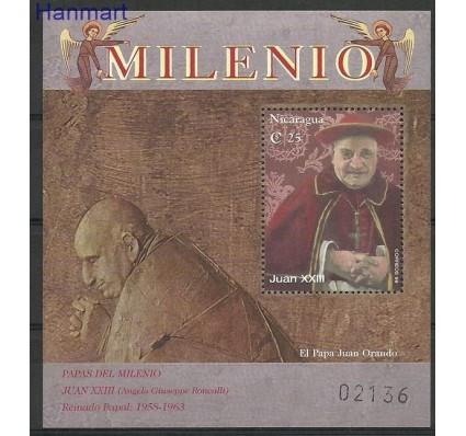 Znaczek Nikaragua 2000 Mi bl 311 Czyste **