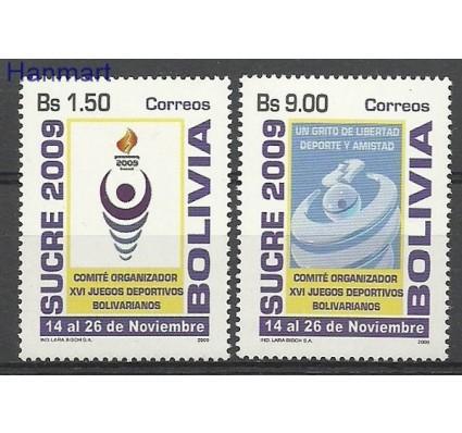 Znaczek Boliwia 2009 Mi 1787-1788 Czyste **