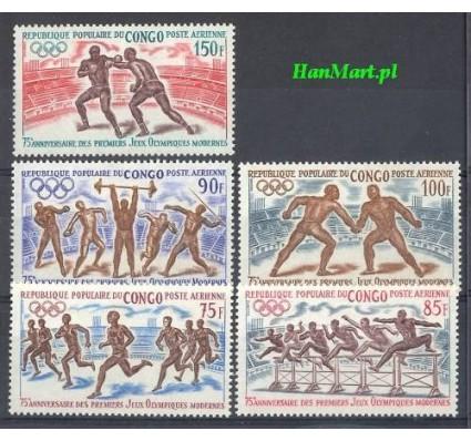Znaczek Kongo 1971 Mi 318-322 Czyste **