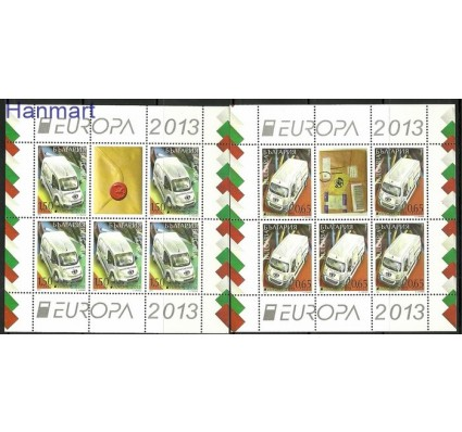 Znaczek Bułgaria 2013 Mi ark 5092-513 Czyste **