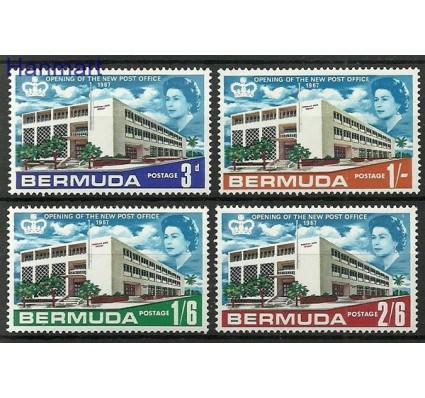 Znaczek Bermudy 1967 Mi 199-202 Czyste **