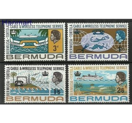Znaczek Bermudy 1967 Mi 203-206 Czyste **