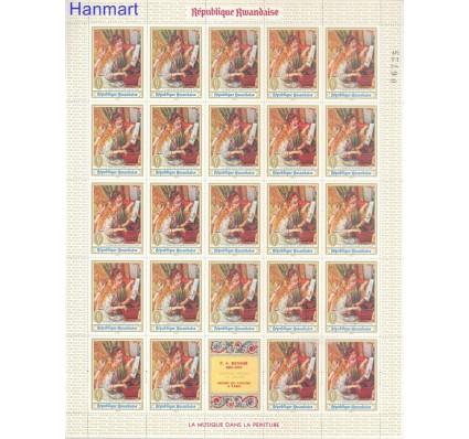 Znaczek Rwanda 1969 Mi 317-324 Czyste **