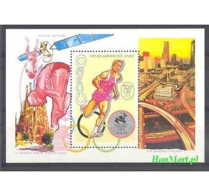 Znaczek Kongo 1993 Mi bl 116 Czyste **