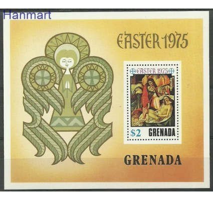 Znaczek Grenada 1975 Mi bl 44 Czyste **