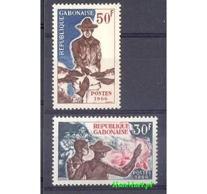 Znaczek Gabon 1966 Mi 255-256 Czyste **