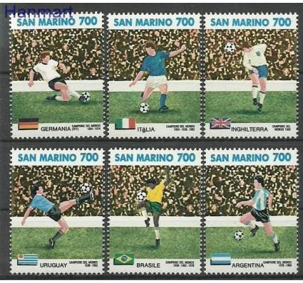 Znaczek San Marino 1990 Mi 1438-1443 Czyste **