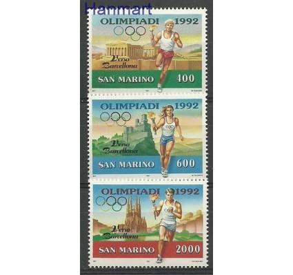 Znaczek San Marino 1991 Mi 1474-1476 Czyste **