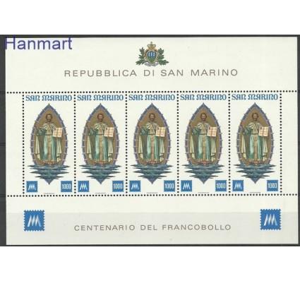 Znaczek San Marino 1977 Mi ark 1147 Czyste **