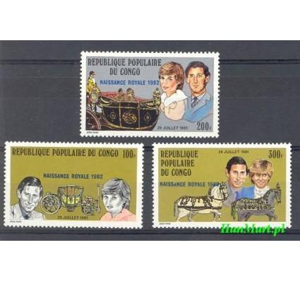 Znaczek Kongo 1981 Mi 832-834 Czyste **