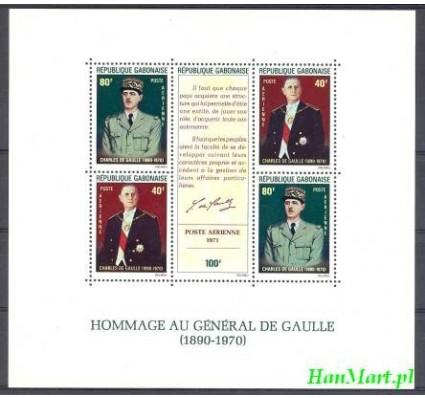 Znaczek Gabon 1971 Mi bl 22 Czyste **