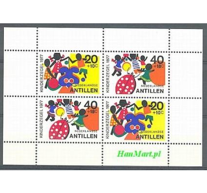 Znaczek Antyle Holenderskie 1977 Mi bl 6 Czyste **