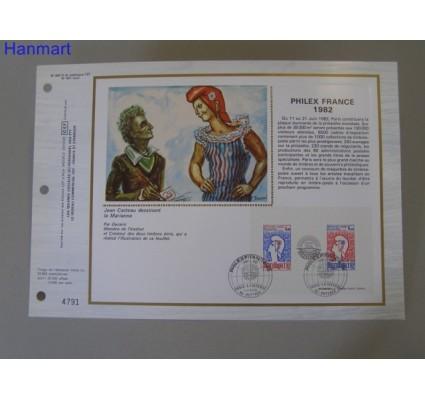 Znaczek Francja 1982 Mi bl 6 Pierwszy dzień wydania