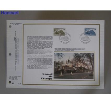 Znaczek Francja 1980 Mi 25-26 Pierwszy dzień wydania