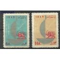Iran 1963 Mi 1162-1163 Czyste **